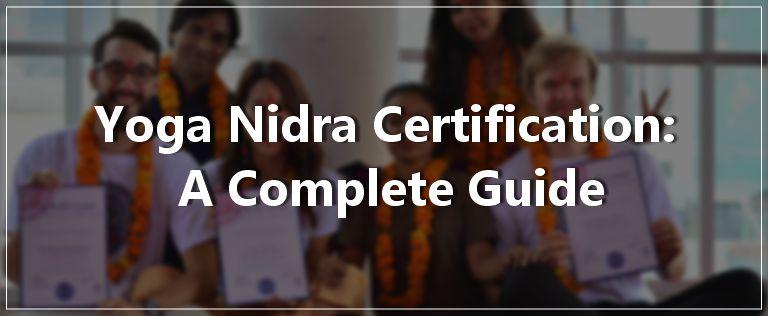 Yoga Nidra Certification
