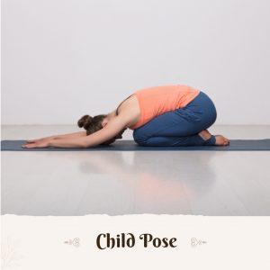 child pose